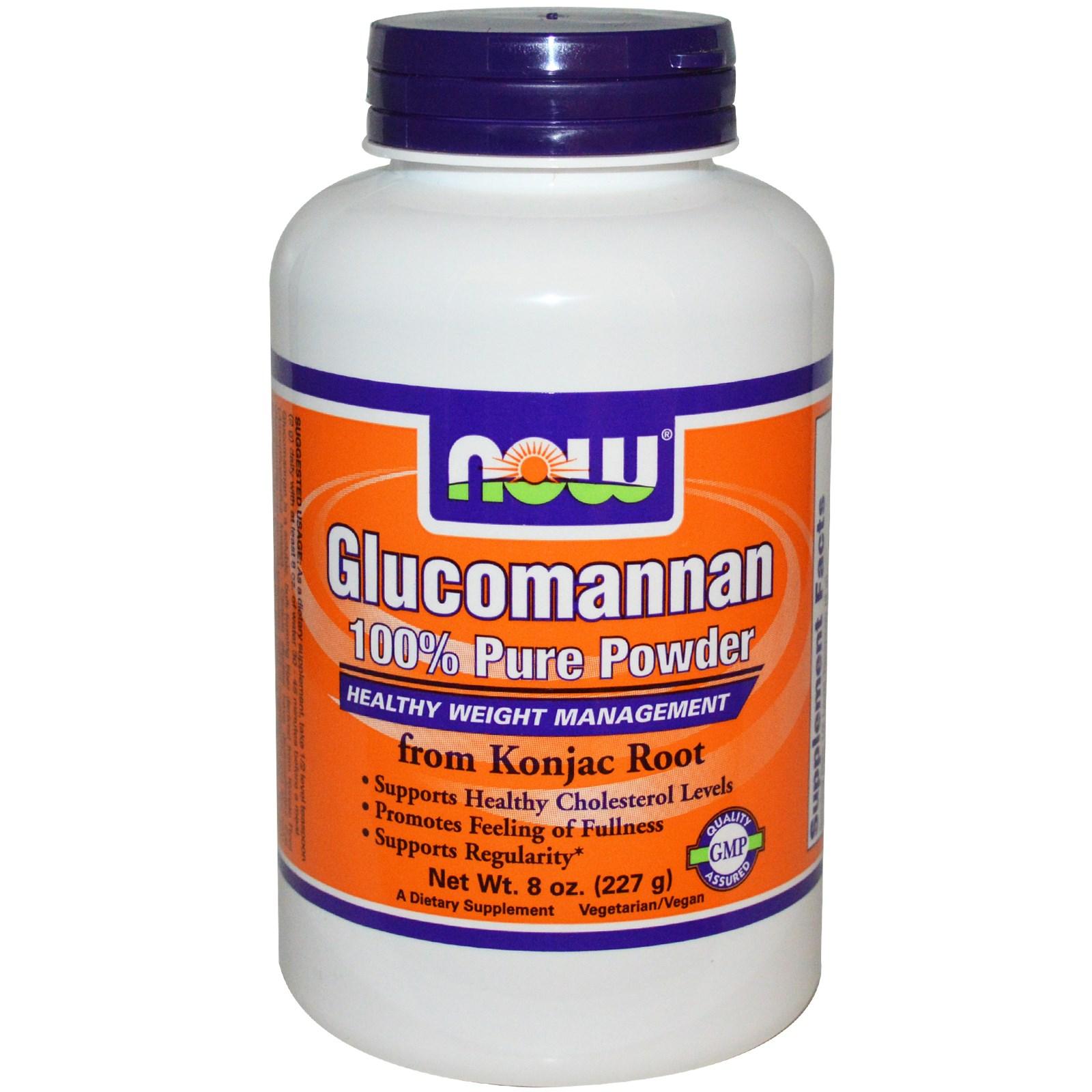 NOW Glucomannan Pure Powder