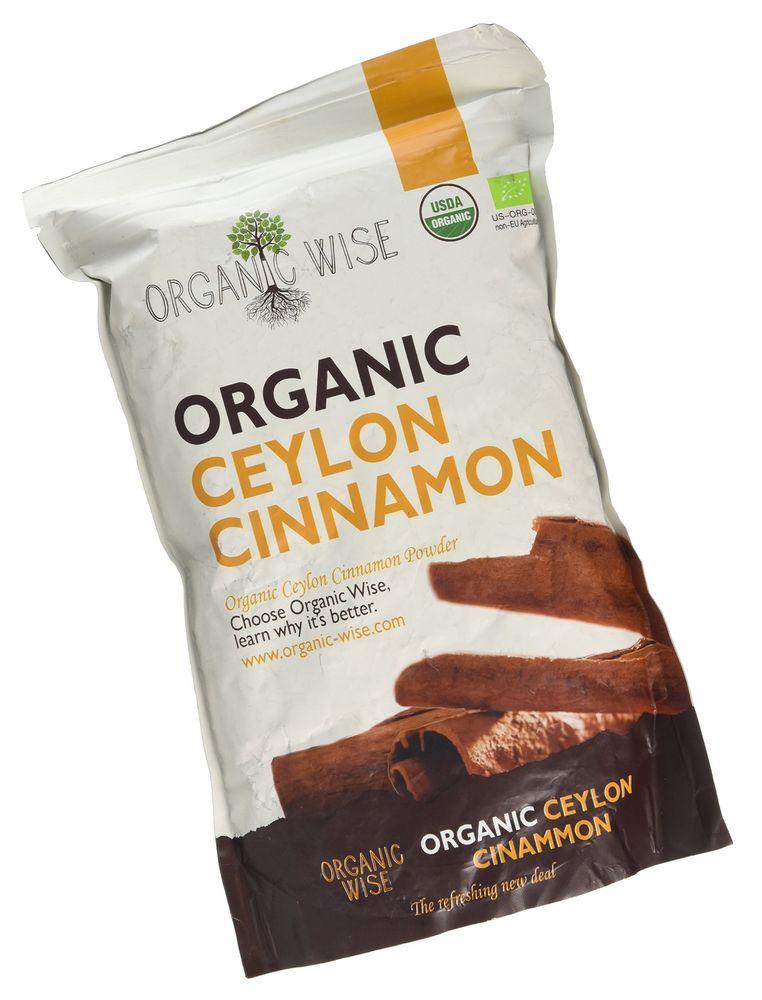 Organic Wise Ceylon Cinnamon Ground Powder