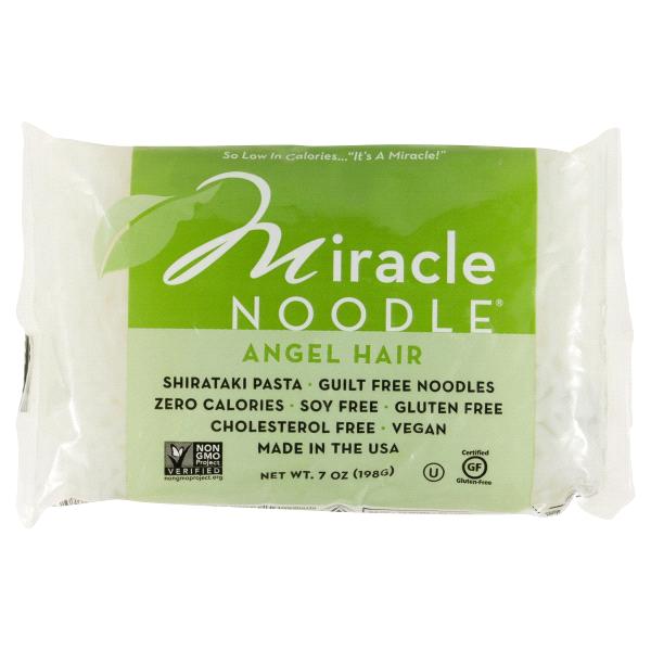 Miracle Noodle Zero Carb, Gluten Free Shirataki Pasta