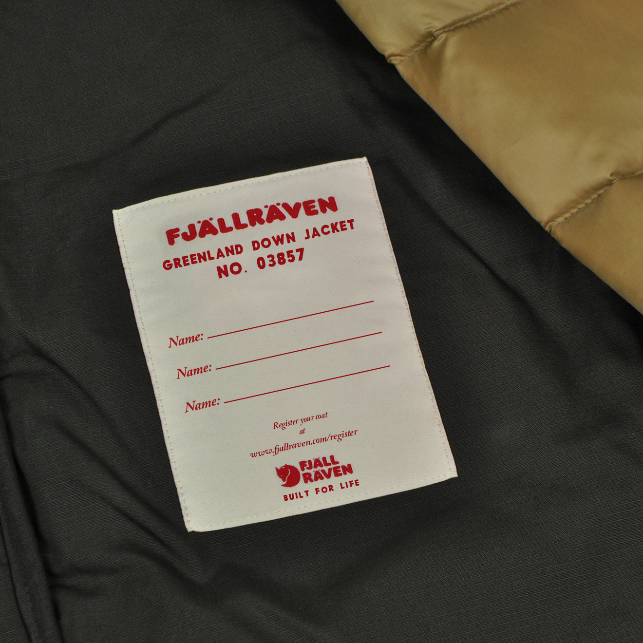 Fjällräven coats have been known to last so long that they can be passed down to future generations. A new label lets you pass it on for more adventures.