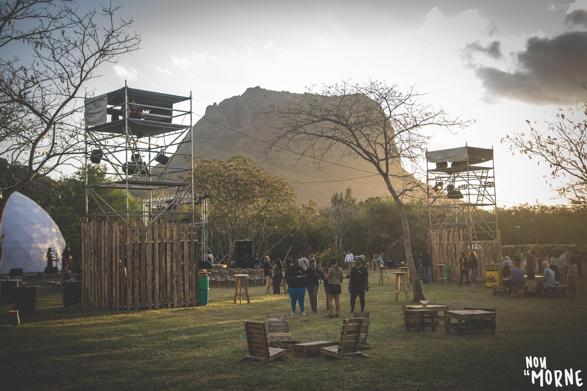 Nou Le Morne Festival 2018, The Green Village, Coteau Raffin, Mauritius