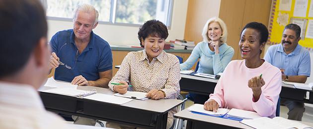 Adult education -