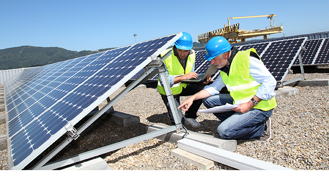 solar photovoltaic installers -