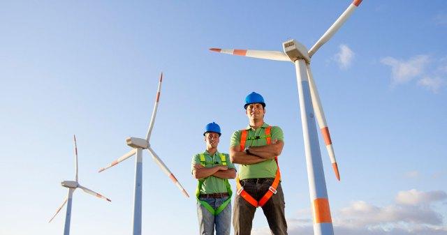 wind turbine technicians -