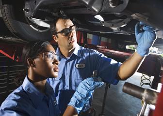 Diesel service technicians and mechanics -
