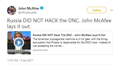 Legacy of Lies_John McAfee_Twitter