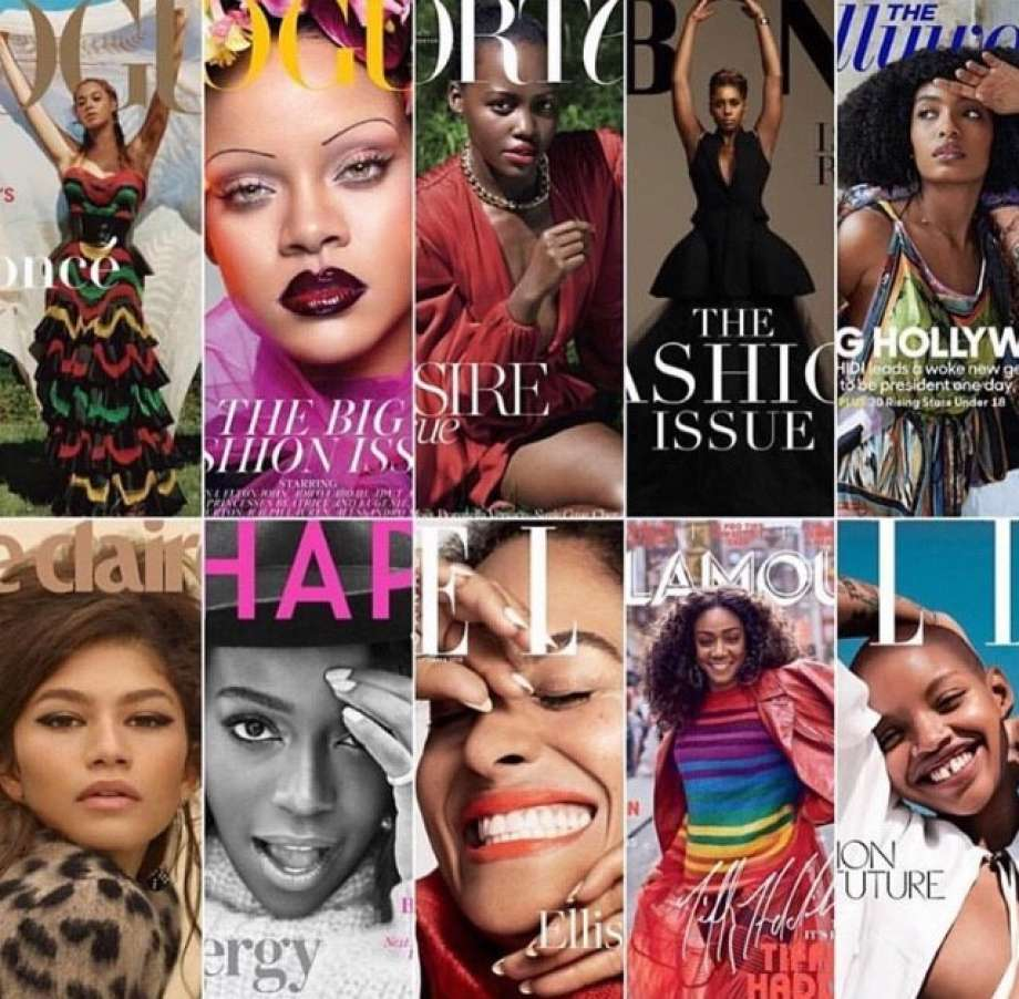 September 2018 Fashion Magazine Cover Pages