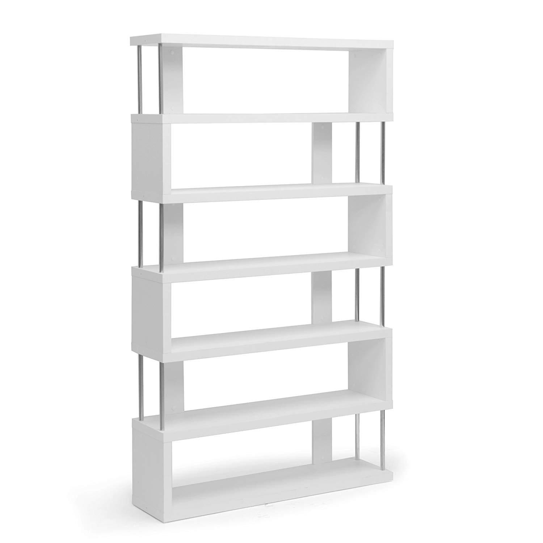 6-Shelf Modern Bookcase