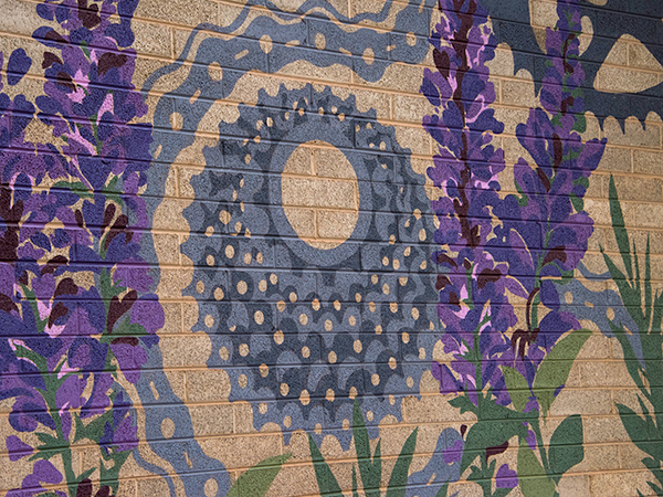 Purple Sage Mural