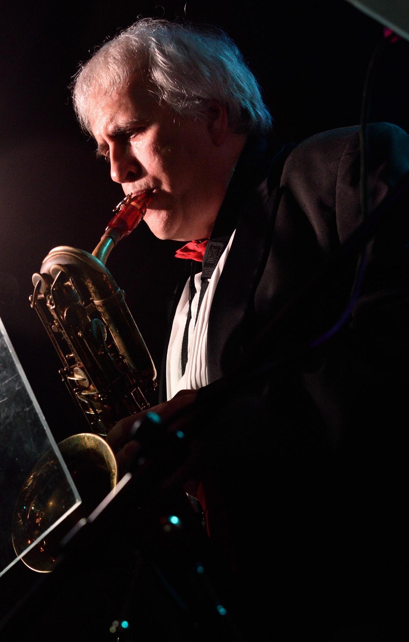 Bruce Giles - Baritone Sax