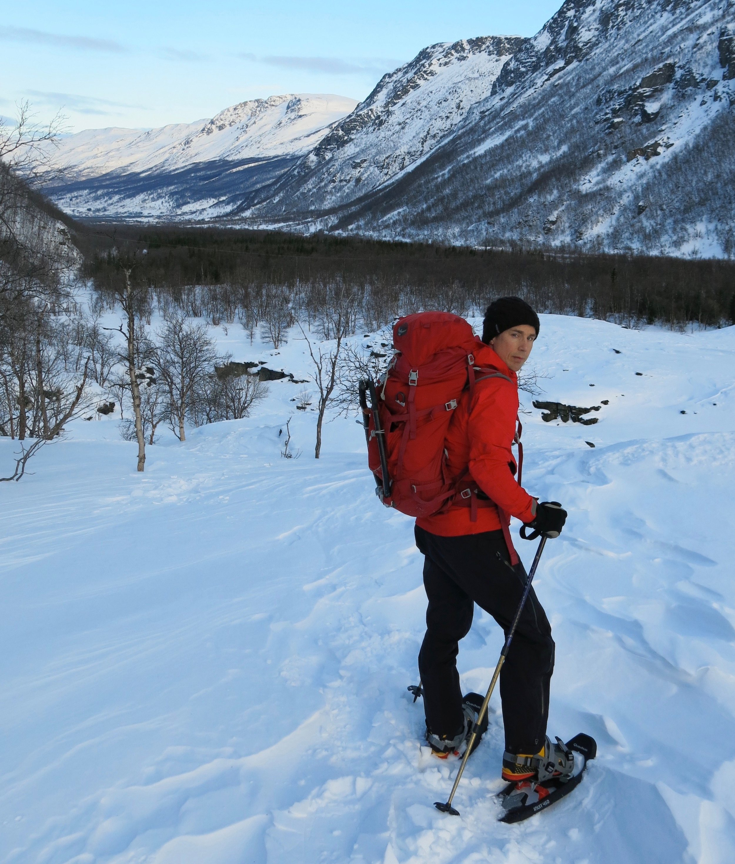Testing the Osprey Variant 37 pack in Arctic Norway in 2013
