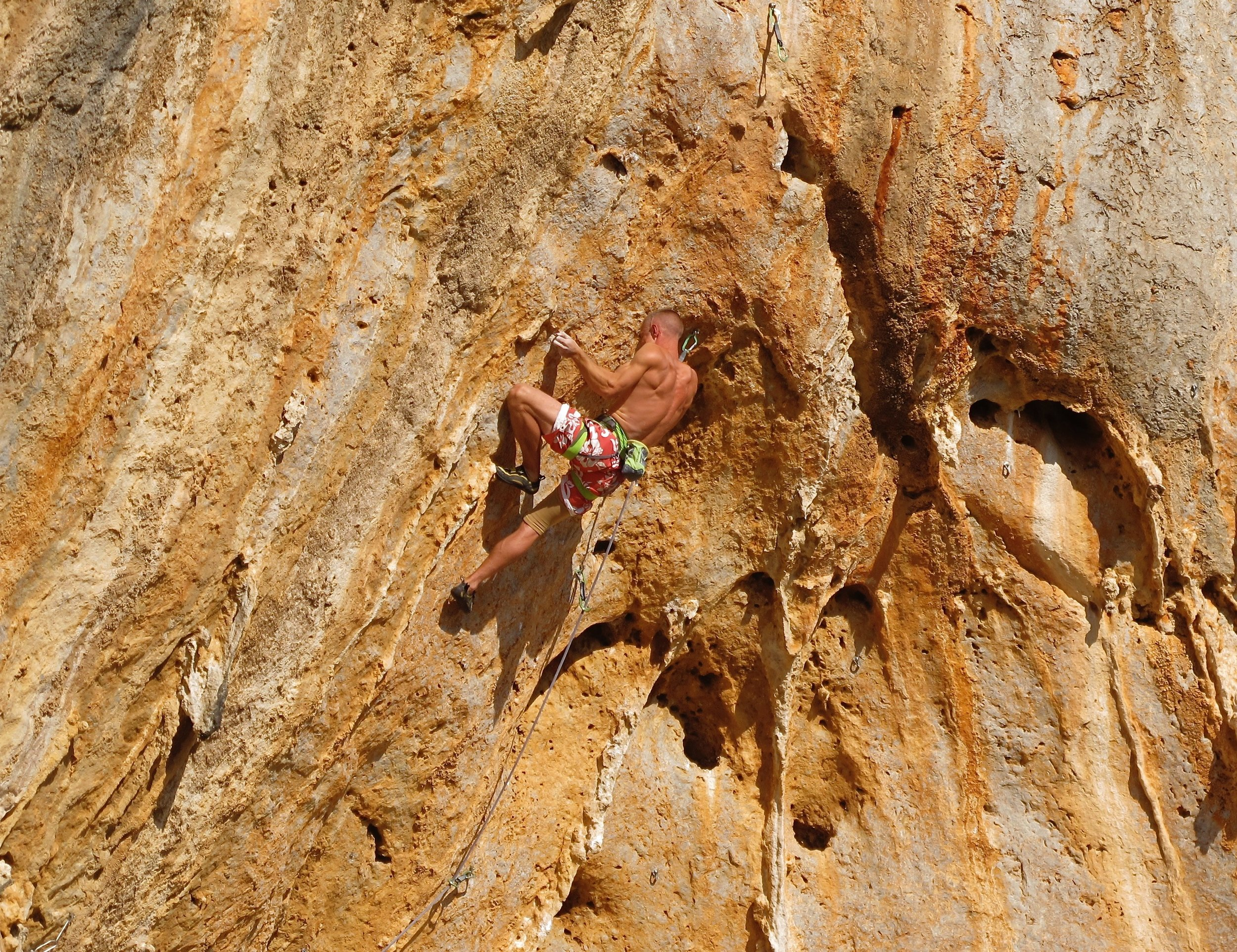 Blame the Machine 8a, Arginonta Skyline, Kalymnos