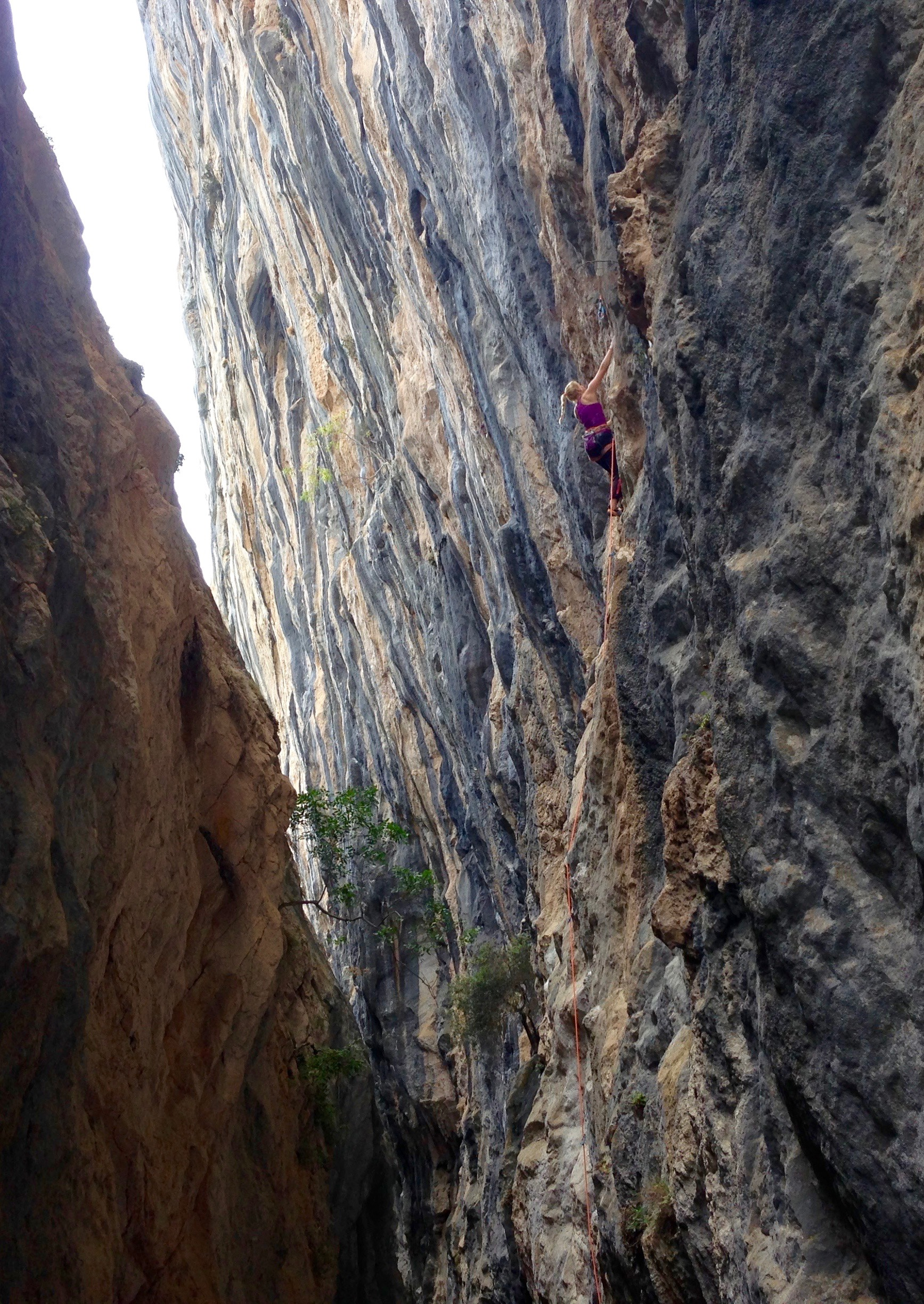 The mighty Citidbi in Antalya, Turkey. A crag which the Petzl team developed on the RocTrip in 2016.