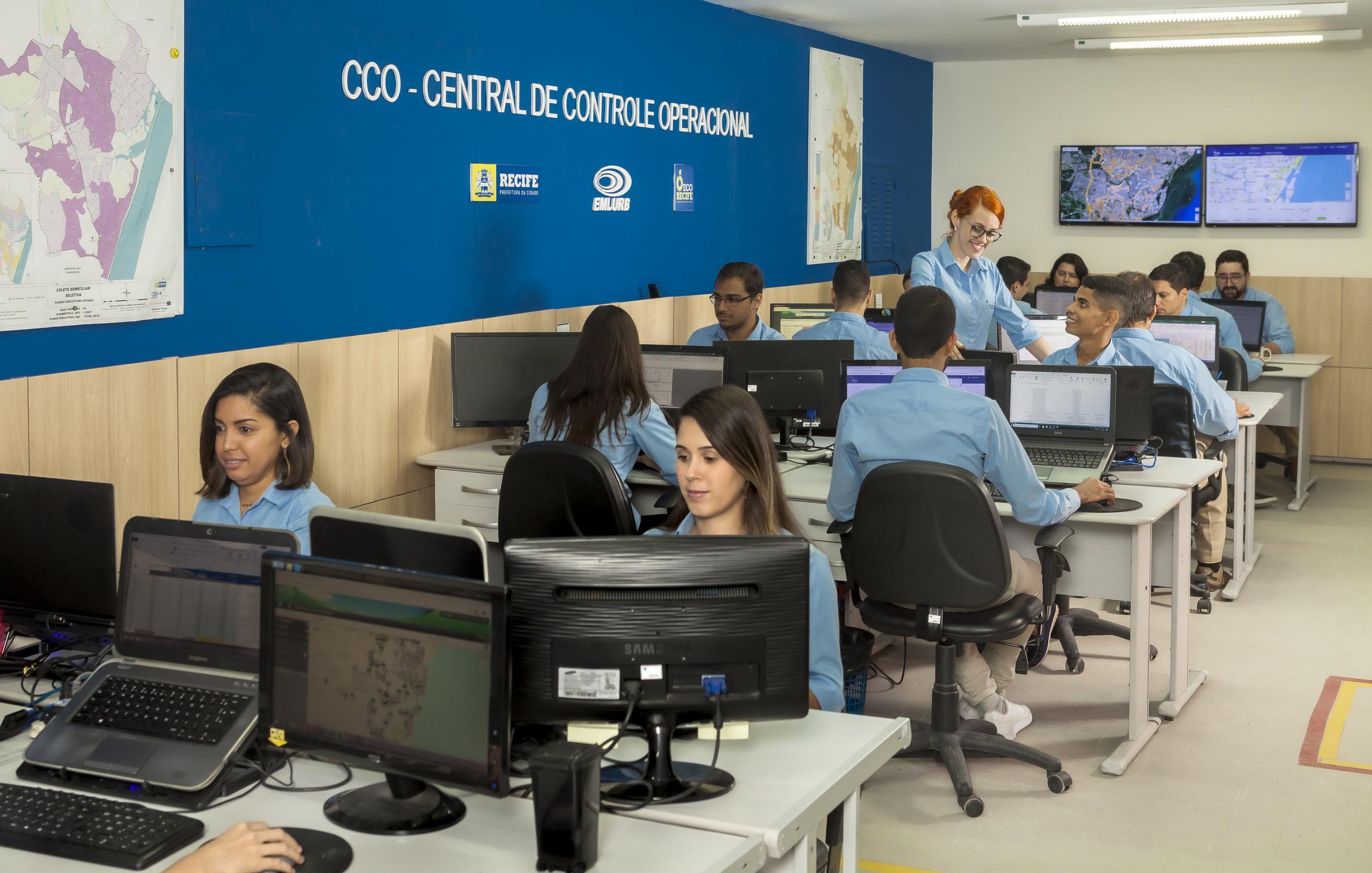Central de Controle Operacional da EMLURB (PE)