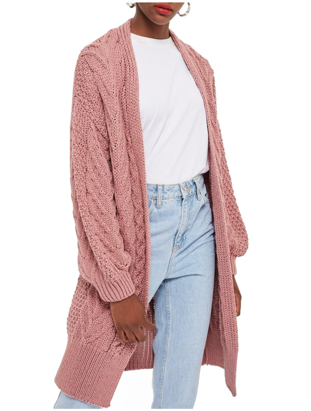 pink cardigan nordstrom