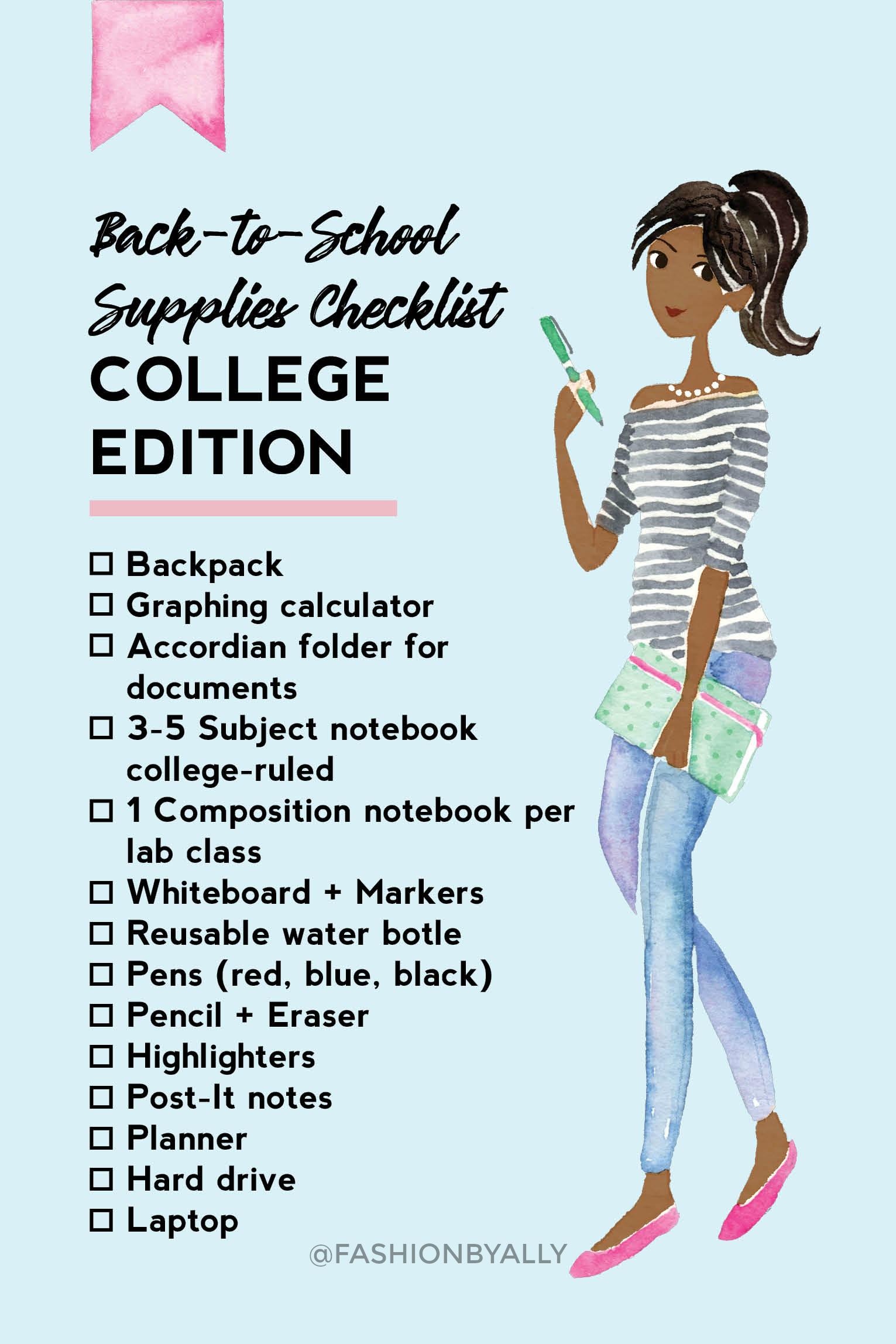 Fashionbyally - Back to School Middle School - Checklists 2.jpg