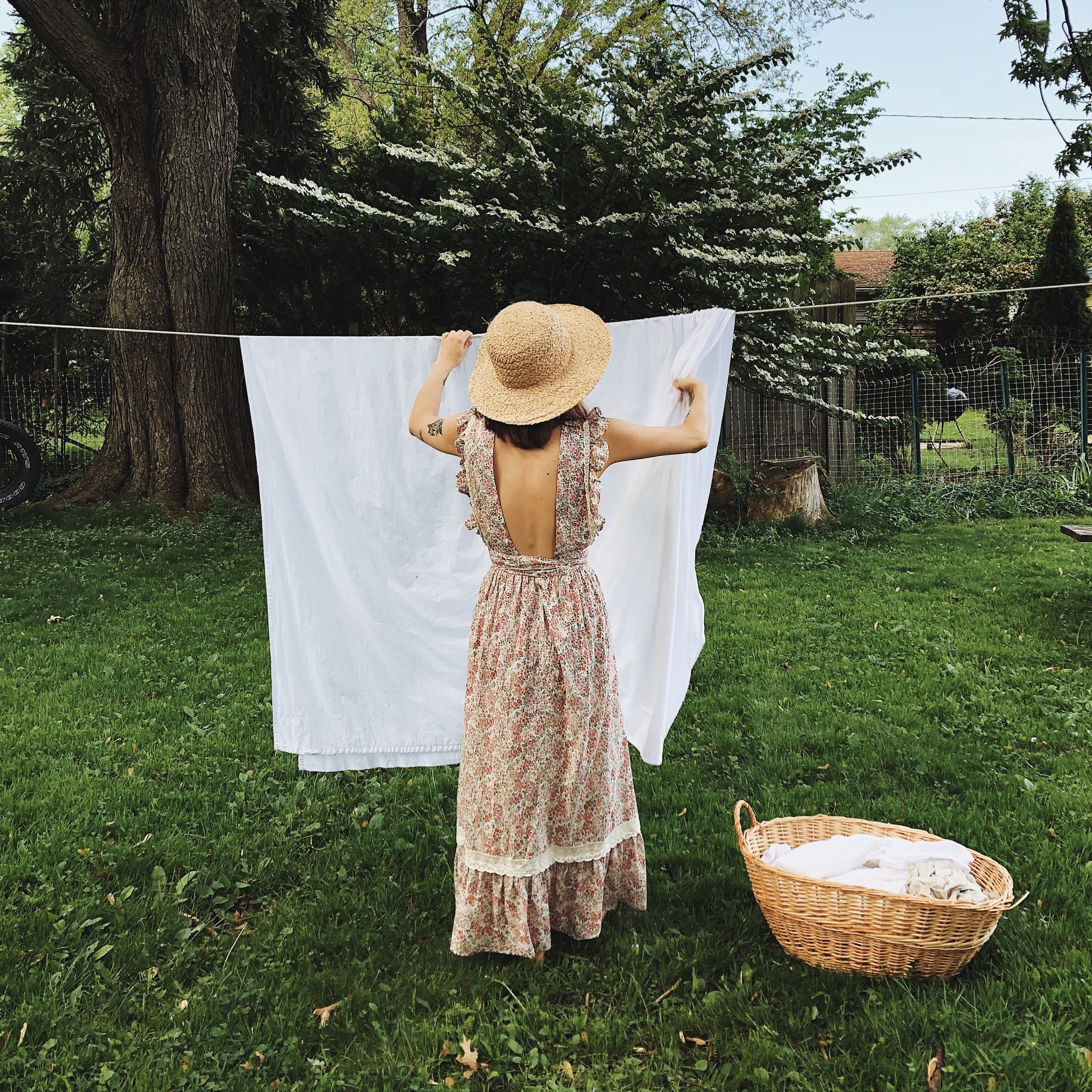 kaetlyn anne laundry sustainable laundry girl in calico