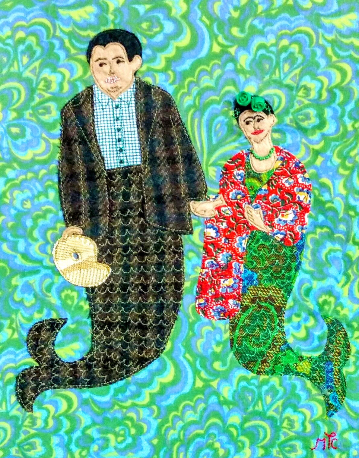 Frida and Diego Under the Sea - 2014