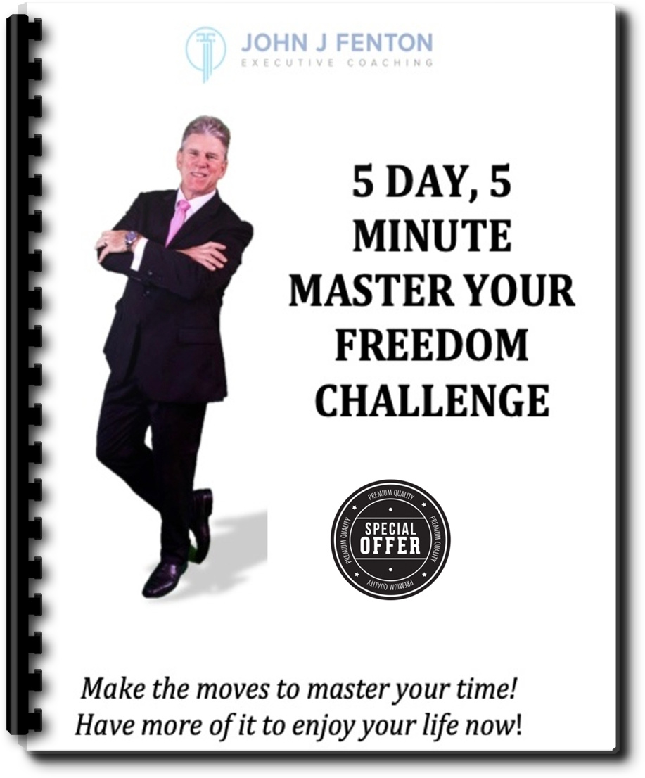 Take the FREE 5 Day Challenge, Just 5 Minutes each day and Take Charge of Your Life - The 5Day, 5Minute Freedom Challenge is FREE. It includes a workbook to help guide you with helpful tips, my special 5-Minute Shift and much more. This is my way of sharing-it-forward. To begin the Challenge, all you need is your name and email address. Nothing else to do. Just click on the Opt-In button below to receive your free gift.