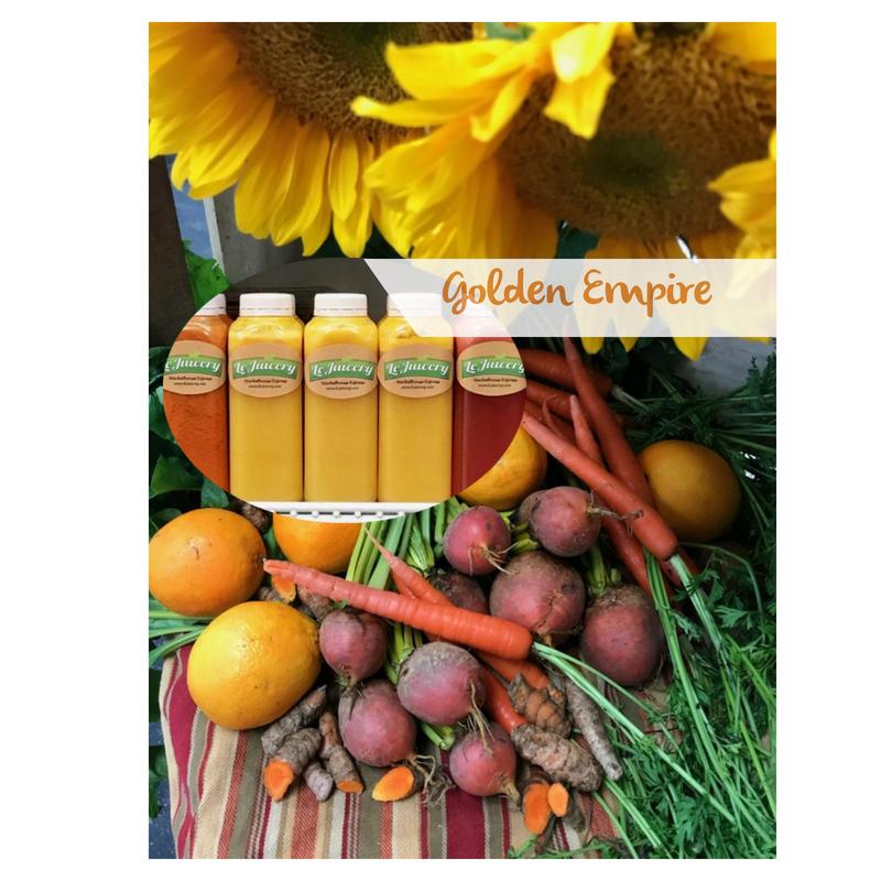 The Golden Empire Juice