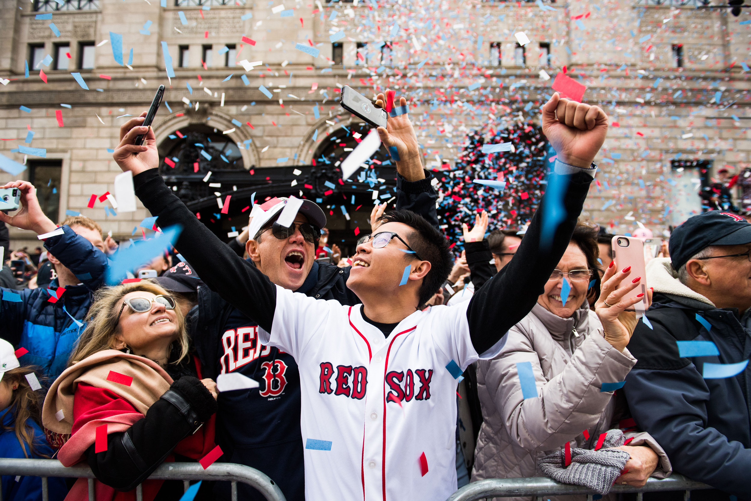 @k__h__r - Rex Sox Parade, Boston, MA
