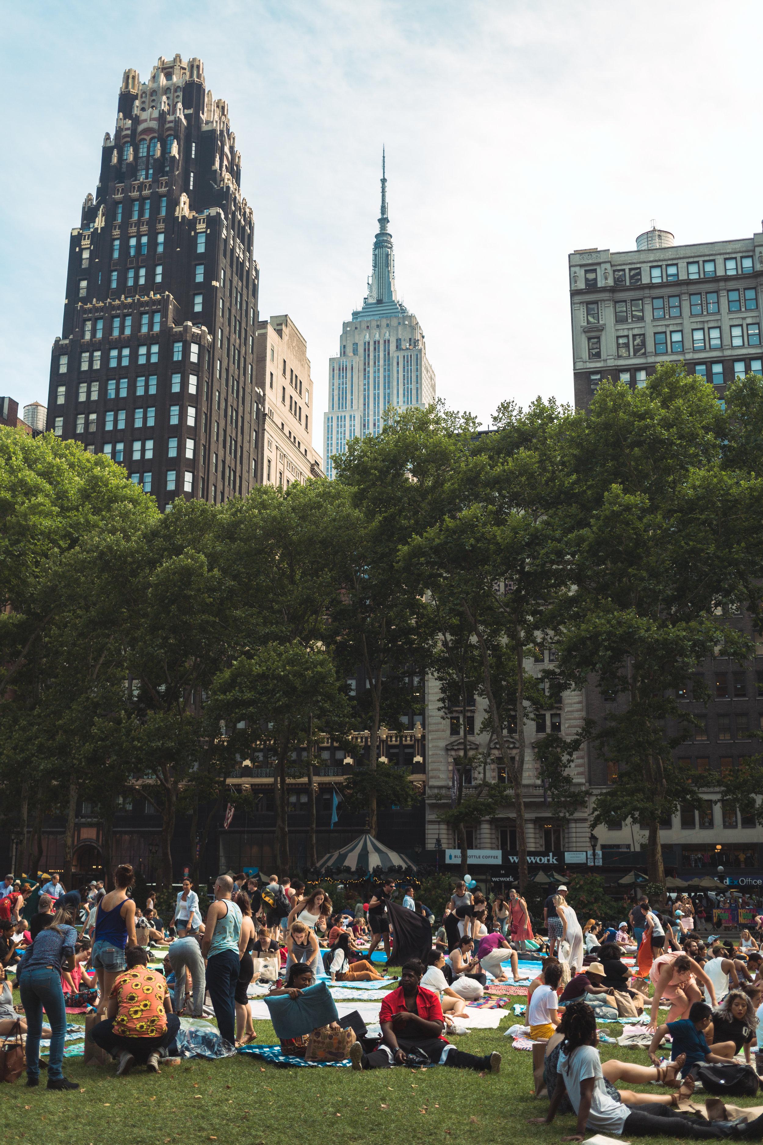 @kylebianchi - Bryant Park, NYC