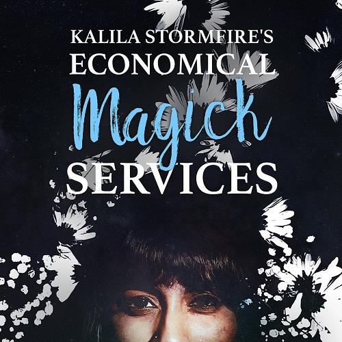 Kalila Stormfire Cover Art Sticker