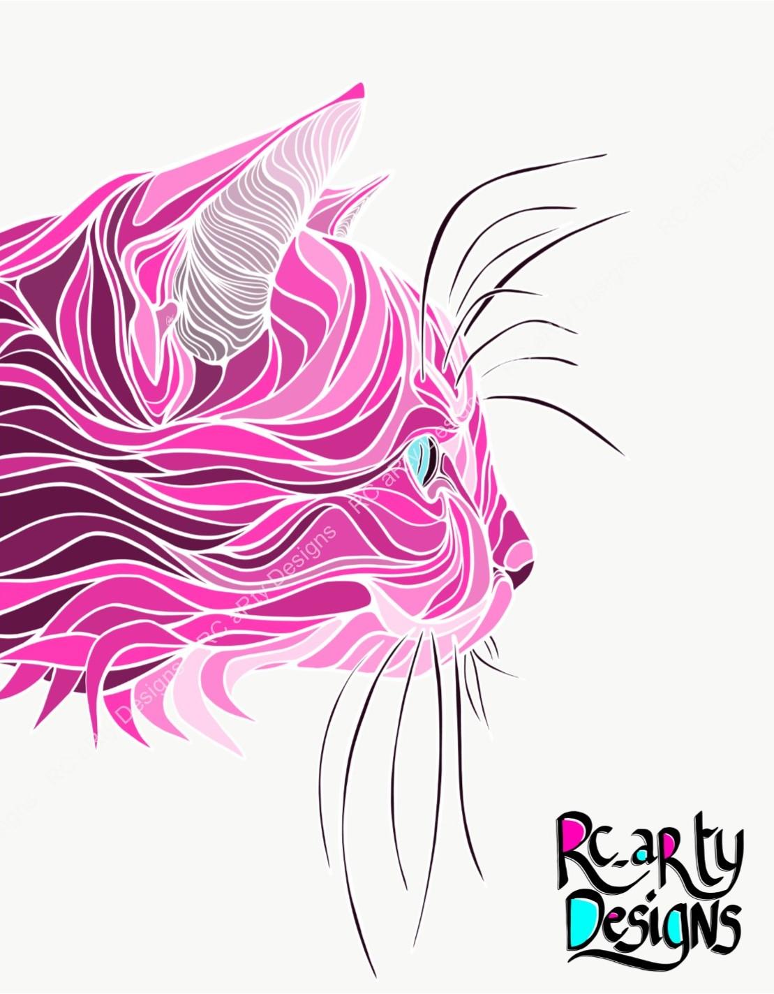 Pink Stealth Kitty on White.jpg