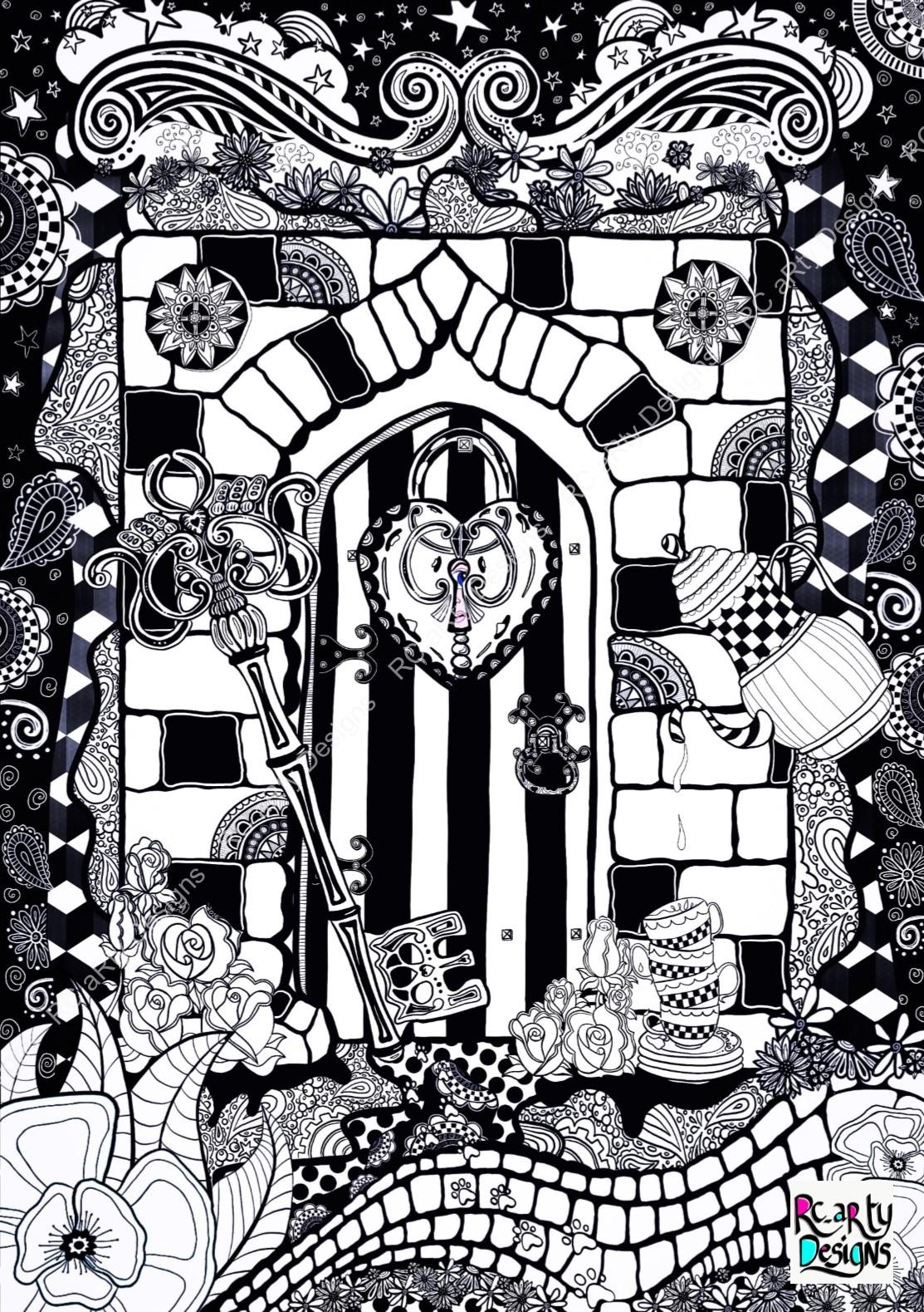 Alice Inspired Door.jpg
