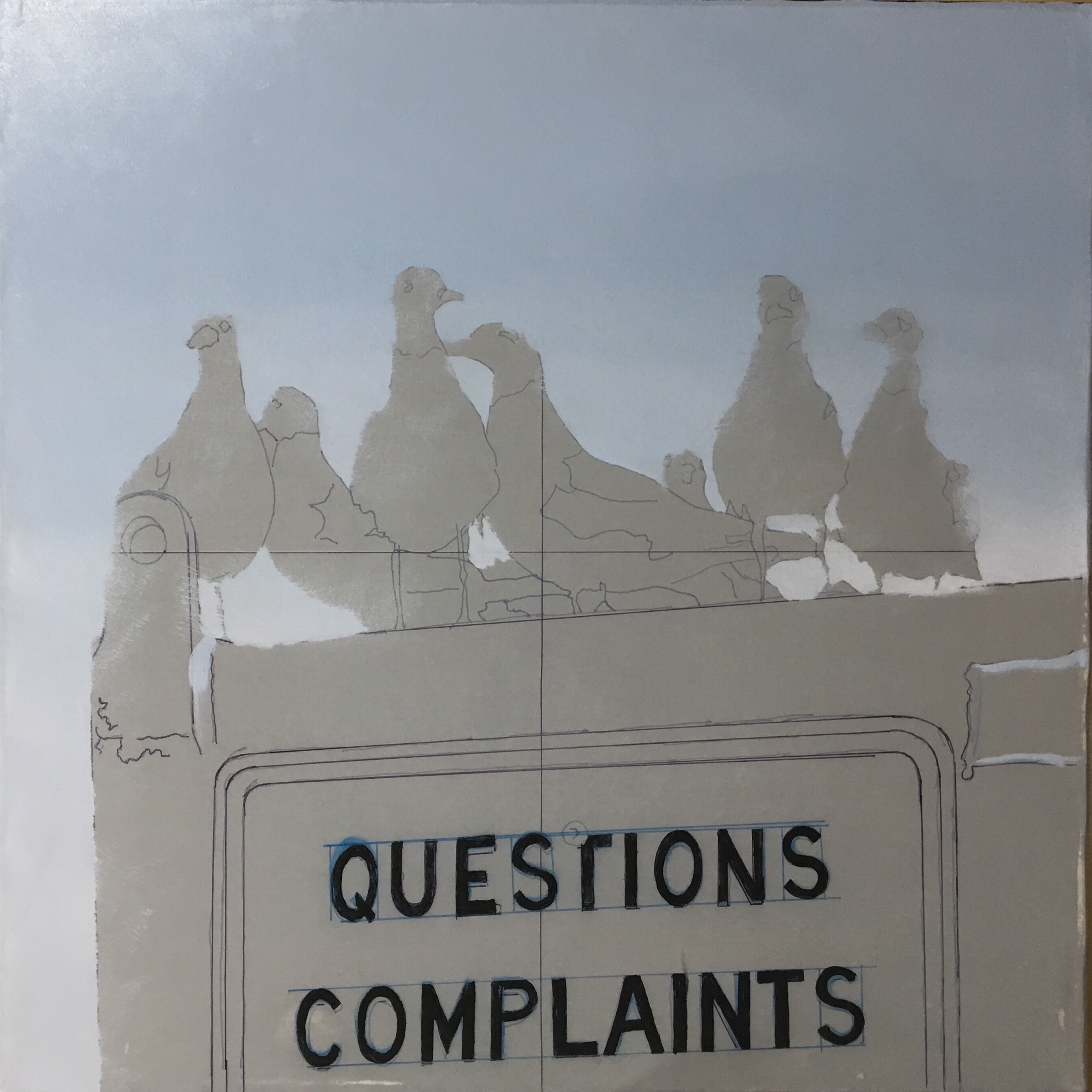 Complaint Department: - Session 2: Laying in the sky