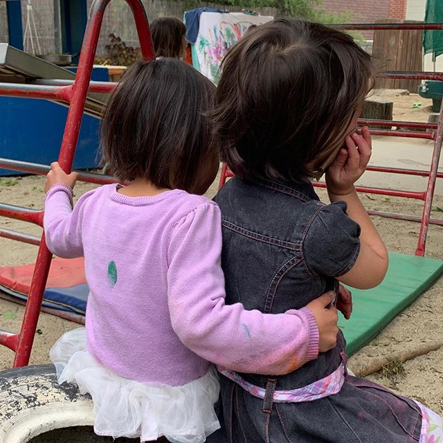 Snuggle up Saturday! #cottagecoopschool #cuddle #saturday #connection