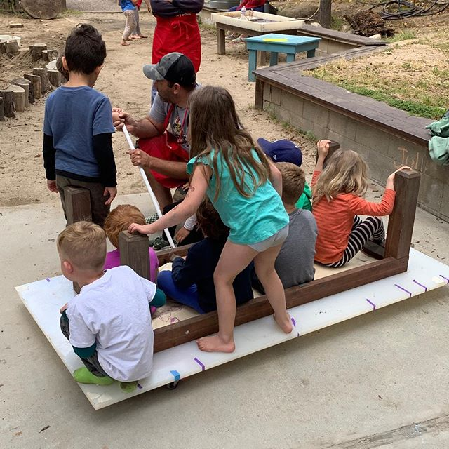 Finishing up our last days with adventure and connection. #cottagecoopschool #play #spring #endofschool
