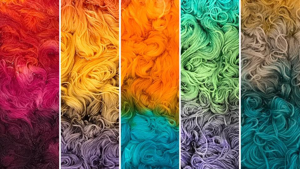 Dyepots from  Willamette Valley Wool Company