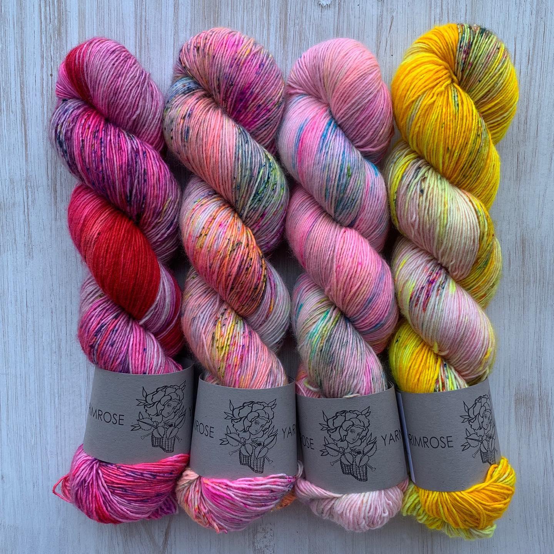 Bold and Warm Colors - Primrose Yarn Co