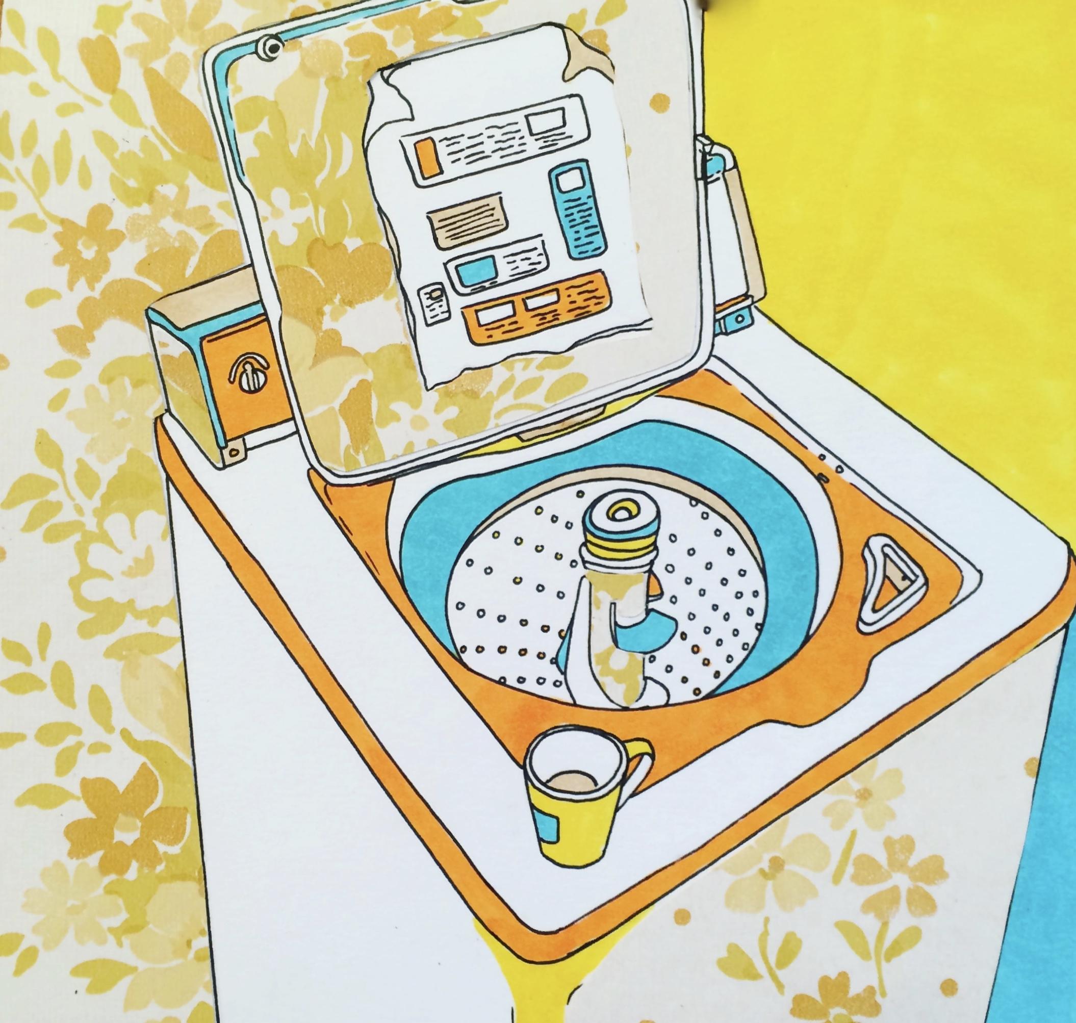 Mom's Washing Machine