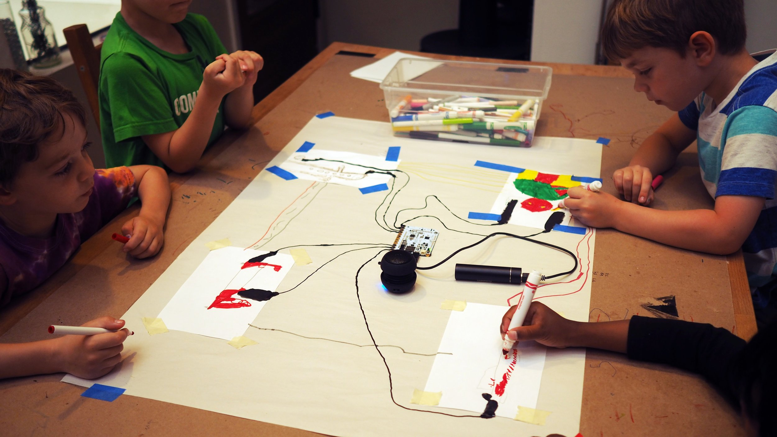Art and Technology  Day Camp, 2017