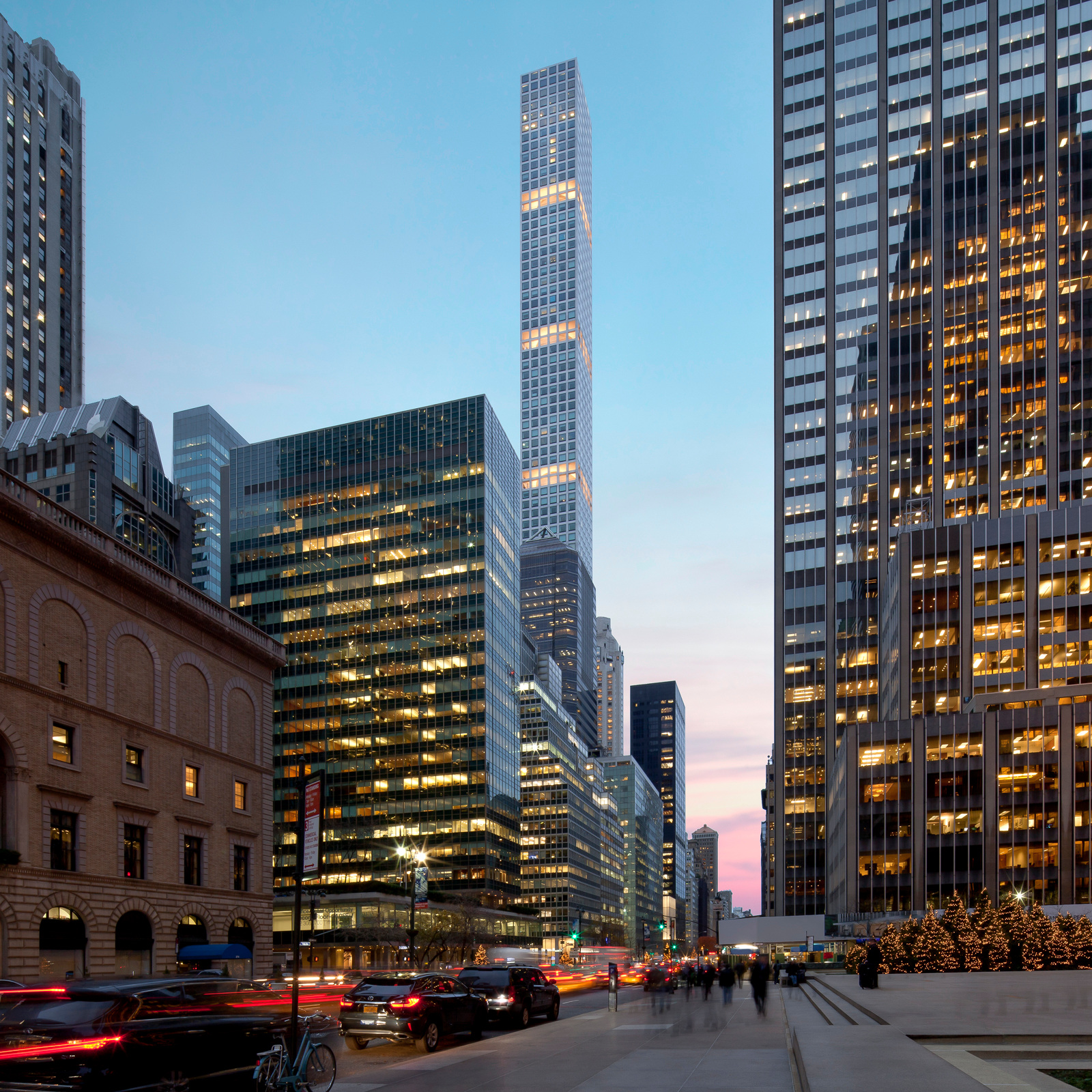 the city -