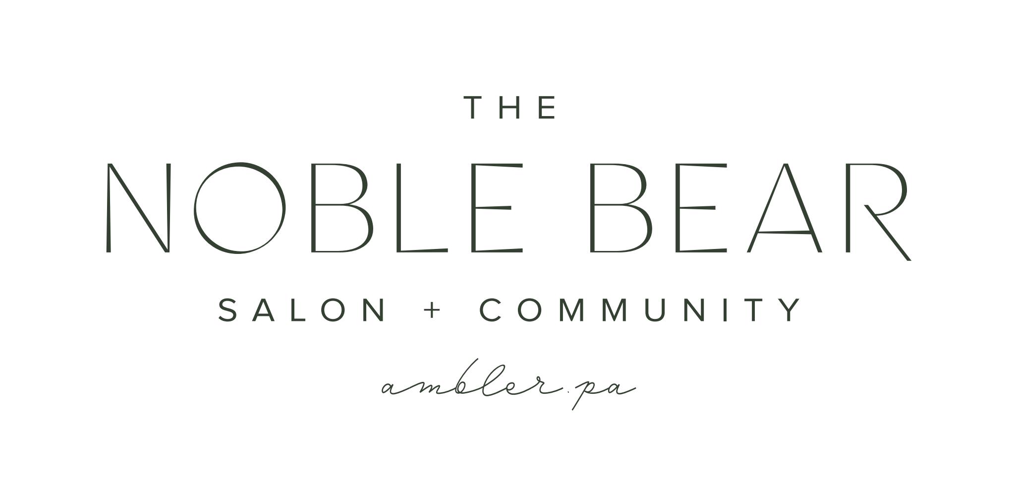 Ambler Pa Hair Salon The Noble Bear Salon