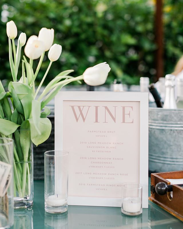 A rainy day calls for some wine and an afternoon of opening wedding gifts. 🤩  Who's ready for another T+C gathering?!
