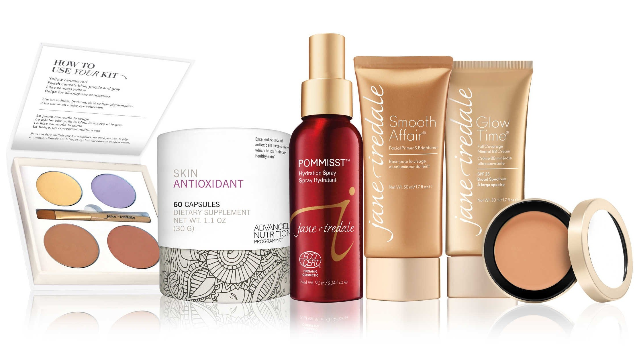 Jane Iredale - makeup and skin care