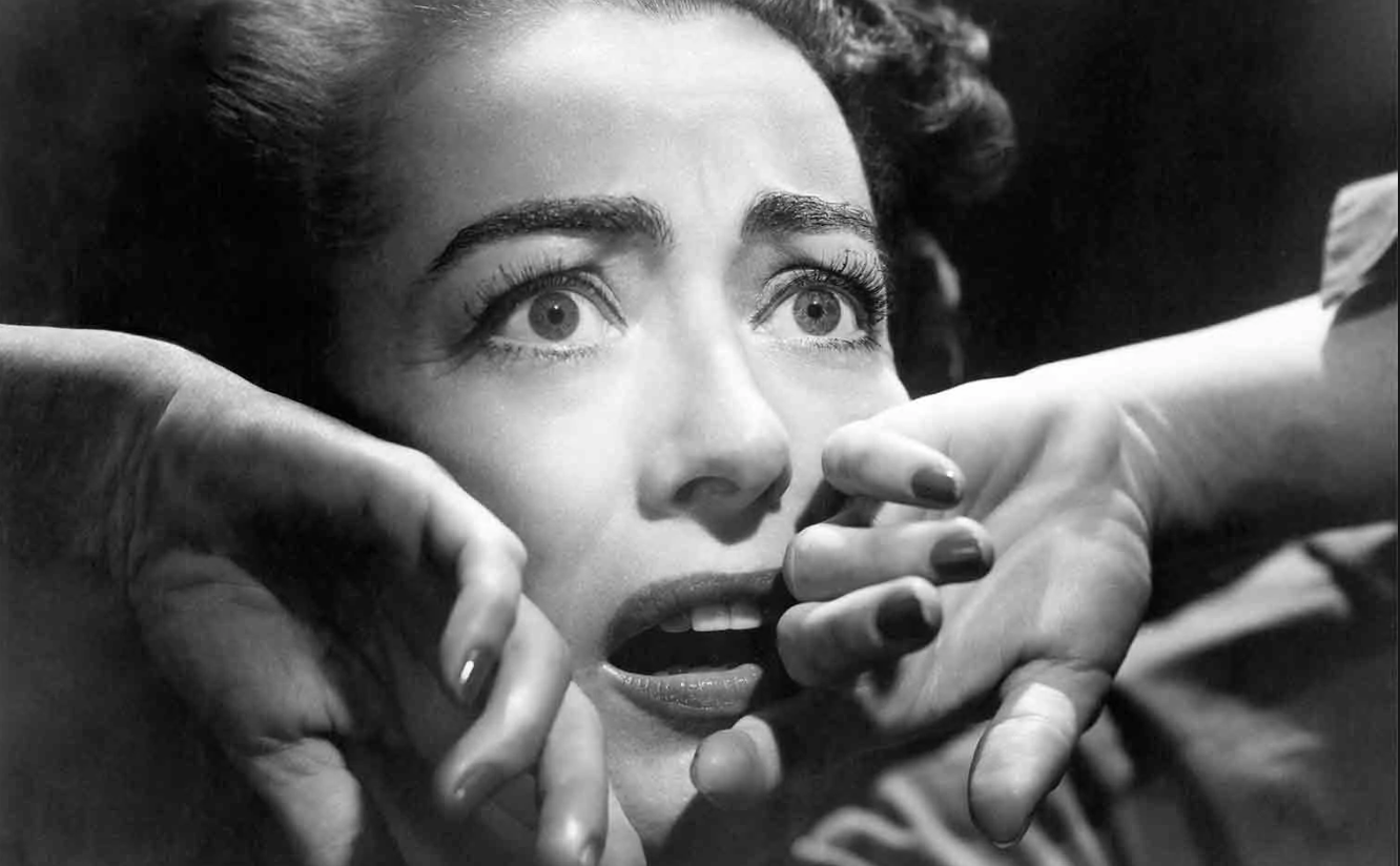 Ladies and gentlemen, I present to you  Joan Crawford: The Many Faces of Fear (and Fierceness)