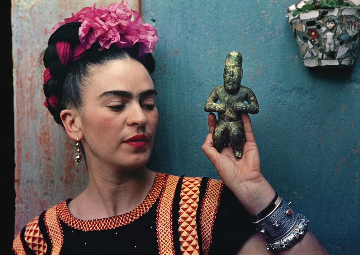The GODDESS and ultimate Manifestor, Frida Kahlo.