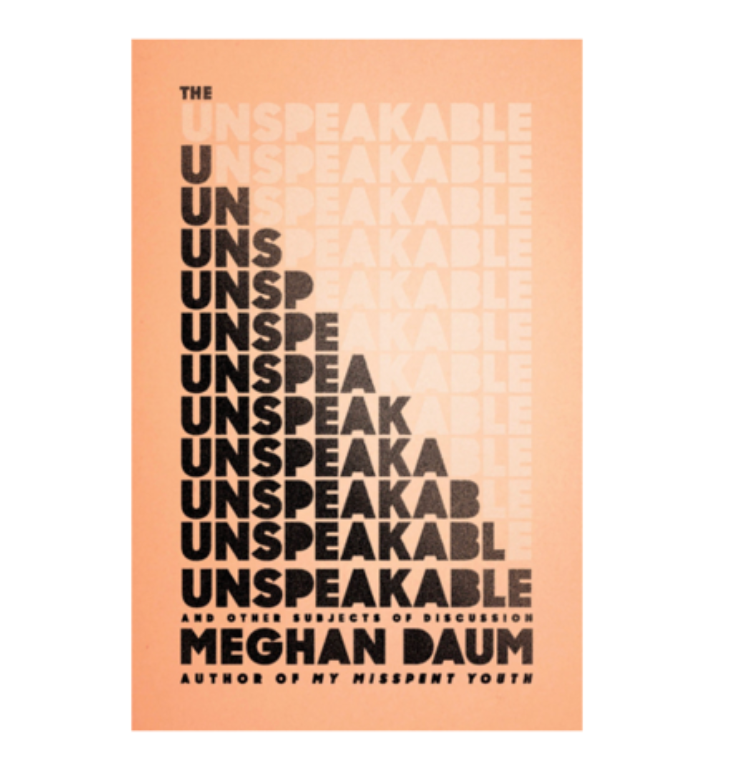 The Unspeakable and Other Subjects of Discussion   by Meghan Daum