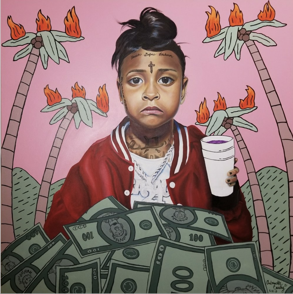 """Numb the Pain With The Money"" by Antoinette Cauley."