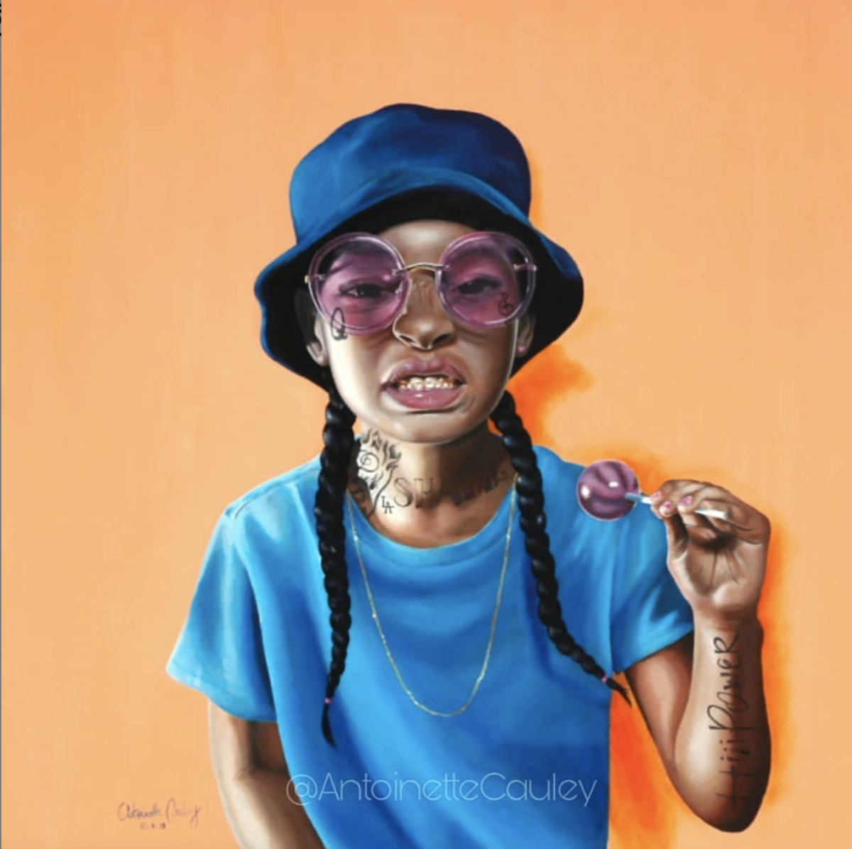 """Whole Life I Been A G"" by Antoinette Cauley"
