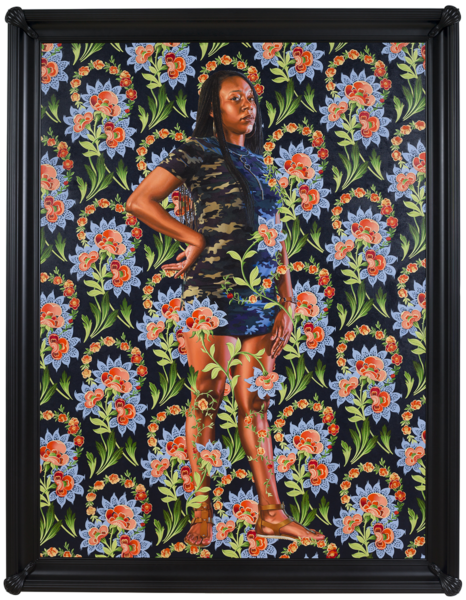 Charles I  (2018)  Artist:   Kehinde Wiley