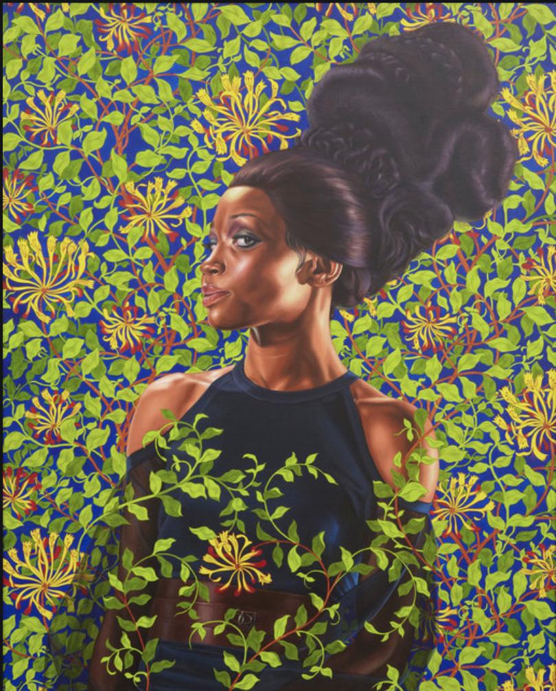 Shantavia Beale II  (2012)  Artist:   Kehinde Wiley