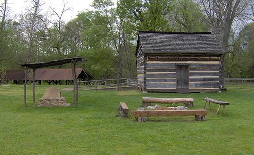 Davy Crockett's birthplace