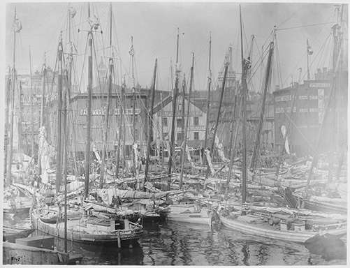Early Photo of Baltimore
