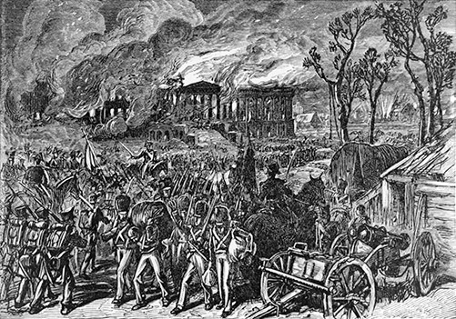 Burning of Washington in 1814